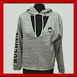 PINK Victoria's Secret - UCONN - Hoodie - XS and S